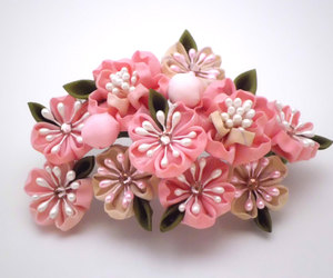 cherry blossoms, etsy, and japan image