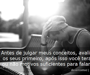 black and white, boy, and frase image