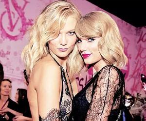 Karlie Kloss and Taylor Swift image