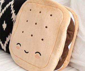 kawaii, cute, and pillow image