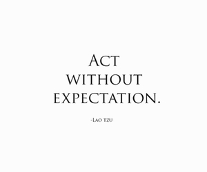 act, black and white, and expectation image