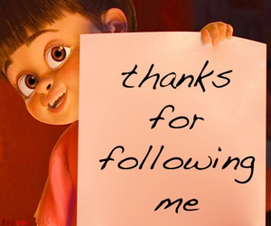 thanks, followers, and boo image