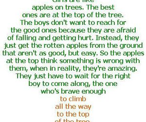 girl, quote, and tree image