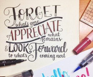 calligraphy, quote, and typography image
