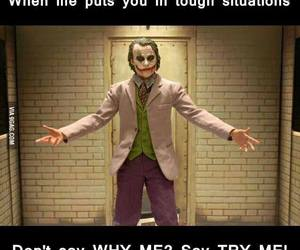 life, joker, and quote image