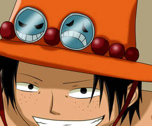 boy, one piece, and ace image