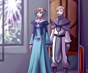 obi wan kenobi, satine, and star wars image