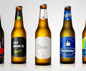 beer, brands, and marketing image