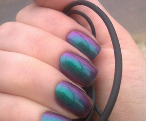 nails, beautiful, and colors image