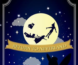 neverland, peter pan, and wallpaper image