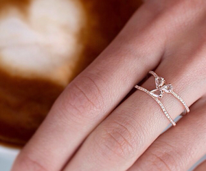 ring, wedding, and engagement ring image