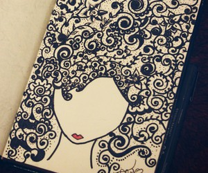 Afro, doodles, and art image