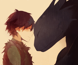 digital art, how to train your dragon, and toothless image