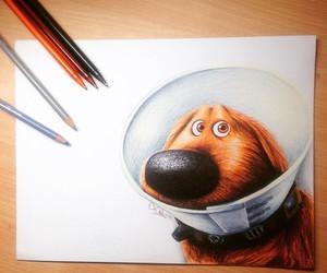 disney, dog, and art image