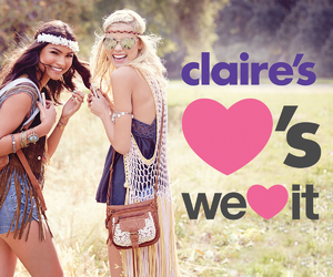 we heart it, claires, and claire's accessories image