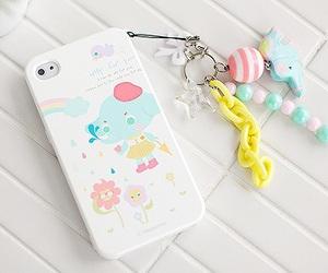 kawaii, pastel, and phone image