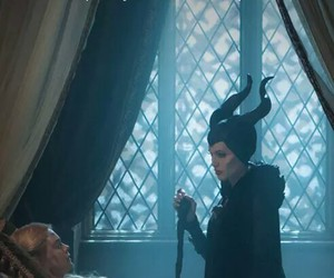 maleficent, Angelina Jolie, and aurora image