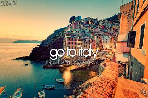 italy, summer, and travel image