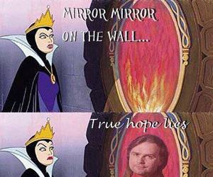 lol, mirror mirror, and metal image
