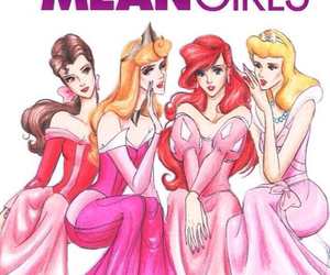 mean girls, disney, and princess image