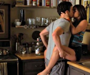 boy, aria montgomery, and love image