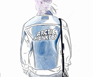 arctic monkeys and outline image