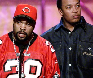 Dr Dre, hip hop, and ice cube image