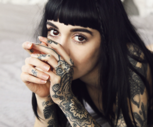tattoo, hannah snowdon, and hannah image