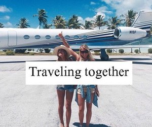travel, friends, and summer image