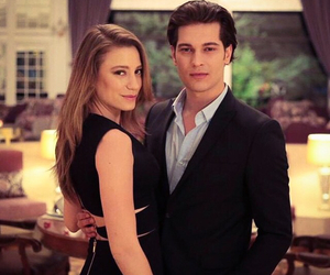 couple, serenay sarikaya, and love image