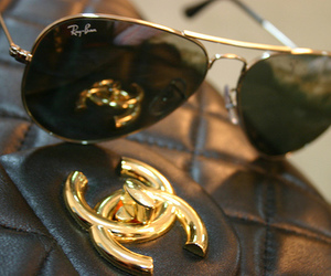 chanel, fashion, and ray ban image