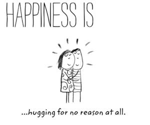 couple, hug, and quote image