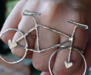bicycle, jewelry, and ring image