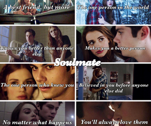 soulmates, teen wolf, and dylan o'brien image