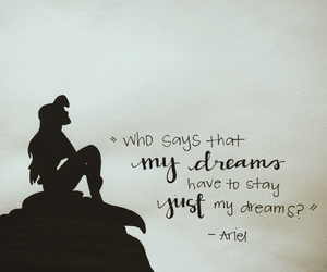 ariel, disney, and quotes image