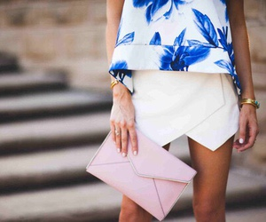 fashion, summer, and blue image