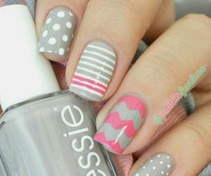 grey, nails, and perfect image