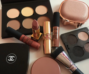 makeup, chanel, and lipstick image