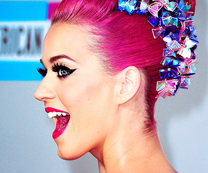 katy perry, pink, and hair image