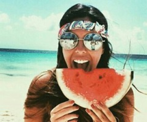 hippie and watermelon image