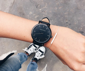 watch, girl, and outfit image