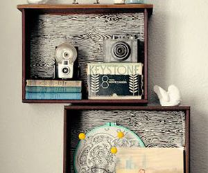 antique, diy, and dresser image