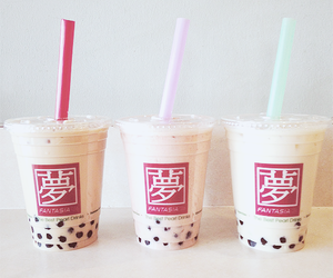 bubble tea and drink image