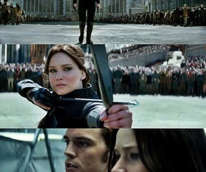 the hunger games, mockingjay, and sinsajo image