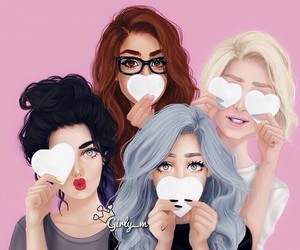friends and girly_m image