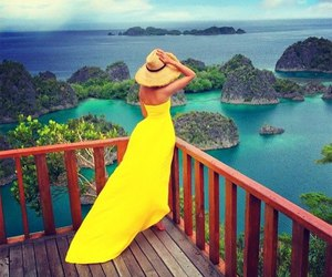 summer, style, and yellow image