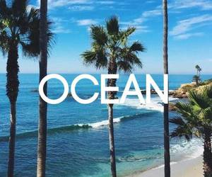 ocean, blue, and summer image