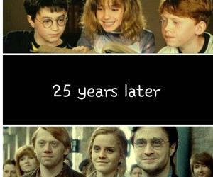 harry potter and years image