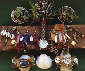 bohemian, boho, and bracelets image