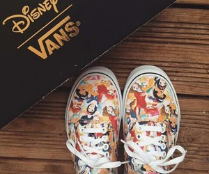 disney, shoes, and vans image